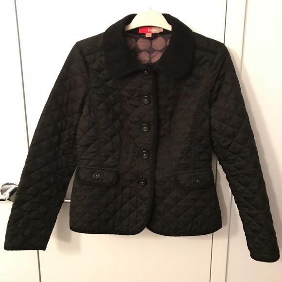 Boden Jackets Coats Quilted Jacket With Buttons Poshmark